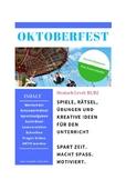 OKTOBERFEST Germany/German Culture -10 pages fun activitie