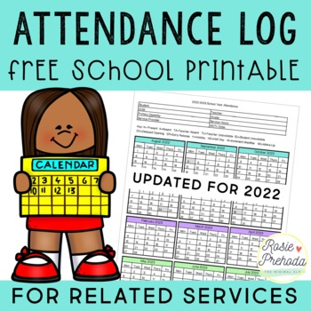 Related Service Attendance Log
