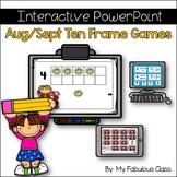 Aug/Sept Interactive Ten Frame Math Games
