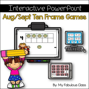 Aug/Sept Interactive Ten Frame Math Games