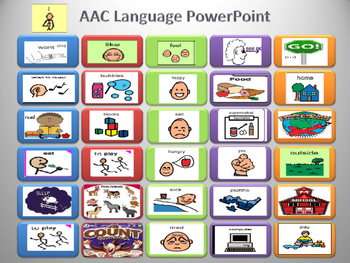 Augmentative and Alternative Communication (AAC) Device