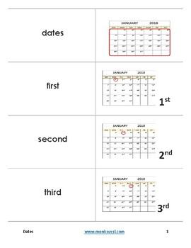 Augmented Flashcards - Dates