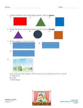 Augmented Reality 1st Grade Math - Shapes