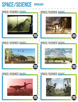 Augmented Reality 3-Dimensional Dinosaur Images (Bundle)