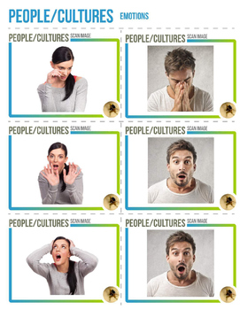 Augmented Reality 3-Dimensional Emotional Expressions (Bundle)