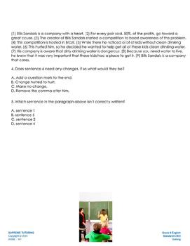 Augmented Reality 6th Grade English - Editing