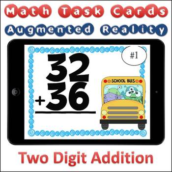 Augmented Reality MATH Task Cards Using Aurasma 2-Digit Addition