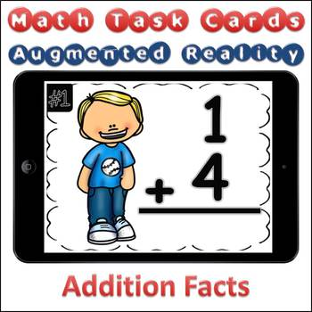 Augmented Reality MATH Task Cards Using Aurasma Addition Facts