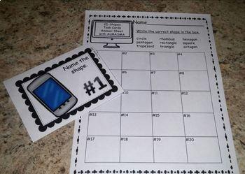 Augmented Reality MATH Task Cards Using Aurasma FREEBIE