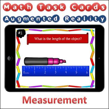 Augmented Reality MATH Task Cards Using Aurasma - Measurement