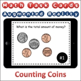 Augmented Reality MATH Task Cards Using Aurasma - Money Counting Coins