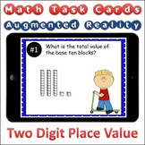 Augmented Reality MATH Task Cards Using Aurasma - Place Value 2-Digit