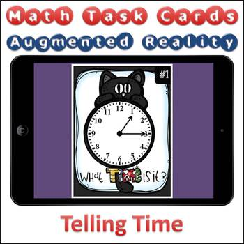 Augmented Reality MATH Task Cards Using Aurasma - Telling Time