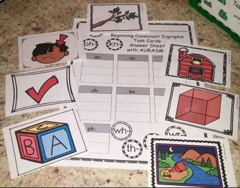Augmented Reality Phonics Task Cards Using Aurasma - FREEBIE
