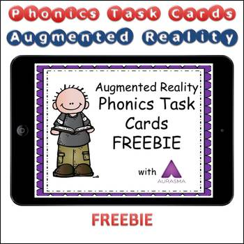 Augmented Reality Phonics Task Cards Using Aurasma - FREEBIE