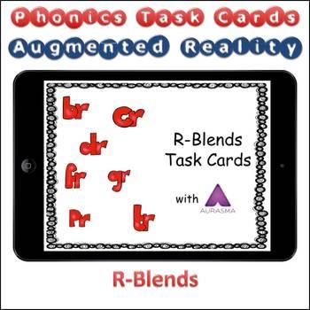 Augmented Reality Phonics Task Cards Using Aurasma R-Blends br cr dr fr gr pr tr