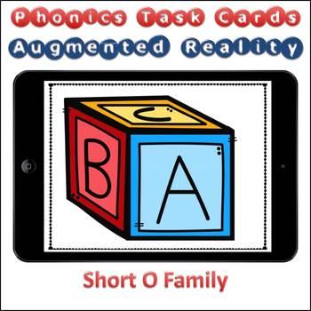 Augmented Reality Phonics Task Cards Using Aurasma - Short Vowel O Family