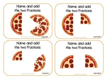 Adding Fractions Task Cards {Enhanced with Augmented Reality}
