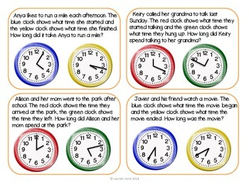 Augmented Reality Task Cards: Elapsed Time