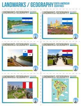 Augmented Reality 3-Dimensional South America Images