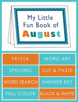 My Little Fun Book of August Helps Reinforce the Months of the Year