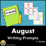 Writing Prompts August 1st Grade Common Core