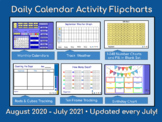 Calendars and Daily Math - Activboard (Promethean) August 2017-July 2018