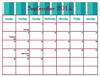 August 2014- June 2015