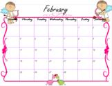 August 2018- June 2019 Calendar (BUNDLE)