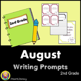 Writing Prompts August 2nd Grade Common Core