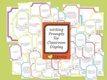 Writing Prompts August 3rd Grade Common Core
