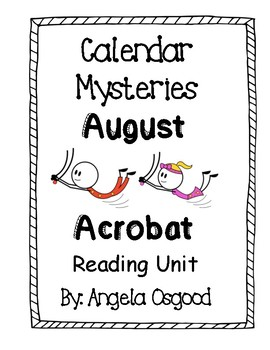 Calendar Mysteries: August Acrobat Reading Guide