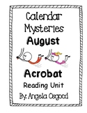 Calendar Mysteries: August Acrobat Reading Guide