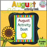 August Activity Book