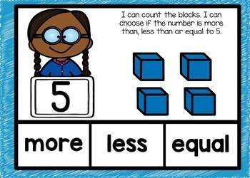 August Back to School Kindergarten Math Boom Cards