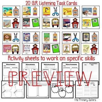 August Back to School Listening Center with QR codes