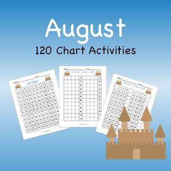 120 Chart Activities August Sandcastles