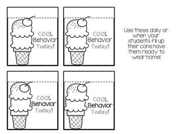 August Behavior Bites ( editable )