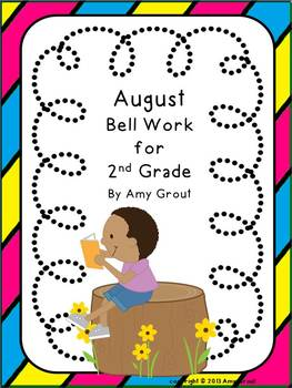 August Bell Work for 2nd Grade