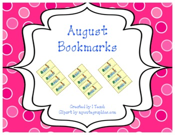 August Bookmarks