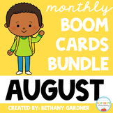 August Boom Cards BUNDLE - Back to School - Boom Cards - D