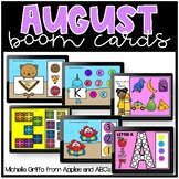 August Boom Cards / Morning Work for Distance Learning
