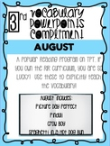 August Bundle! Vocabulary PowerPoints match Rooted in Reading 3rd grade books!!