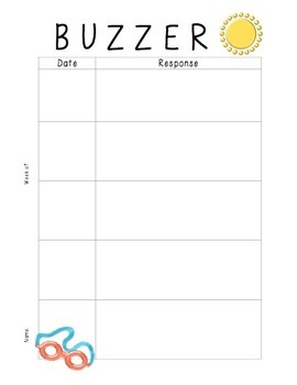 Buzzer Packet AUGUST (Bell Work-Journal) Common Core Writing Prompts
