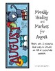 August Calendar Craft and MORE!