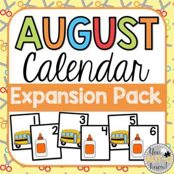 August Calendar EXPANSION PACK