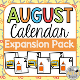 August Calendar EXPANSION PACK
