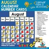 August Calendar Math and Activities | Calendar Pocket Chart Keepers
