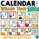Calendar Sets for the Whole Year