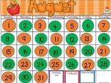 August Calendar- PowerPoint